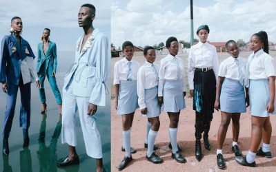 """From Fashion United : """"Thebe Magugu repense l'image de la mode africaine"""""""